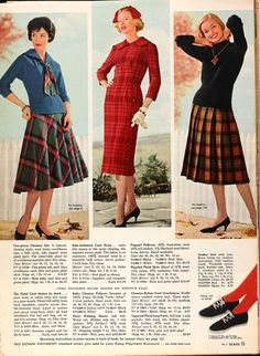 Sears & Roebucks Catalog Clippings (#7) - The Boyer Sisters