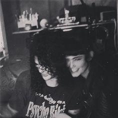 Slash and girlfriend Meegan Hodges