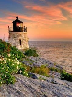Castle Hill Light - Newport, Rhode Island