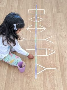 Kids Activities At Home, Preschool Learning Activities, Infant Activities, Teaching Kids, Brain Gym For Kids, Exercise For Kids, Coding For Kids, Toddler Fun, Kids Education