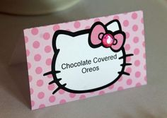 Hello Kitty Inspired 4th Birthday  | CatchMyParty.com