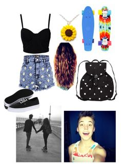 Matthew Espinosa date by taylorcaniffisbae on Polyvore featuring SELECTED, Vans, Monki and Bed Head by TIGI