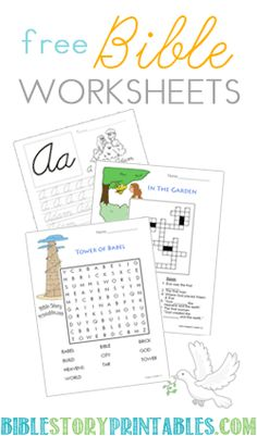 Bible Worksheets Tutors, Worksheets and more at: www.TutorFrog.com/worksheets-wyzant
