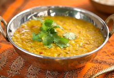 Get that golden glow with this hearty lentil daal, infused with a bold, bright punch of turmeric! Ready in 30 minutes rom start to finish and bursting with fresh, spicy flavors, you may never be able to go back to the average Indian takeout options again.