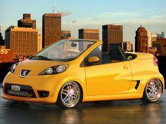 peugeot 107 cc Peugeot 107, Psa Peugeot Citroen, Peugeot France, Automobile, Baby, Gadgets, Autos, Cutaway, Cars