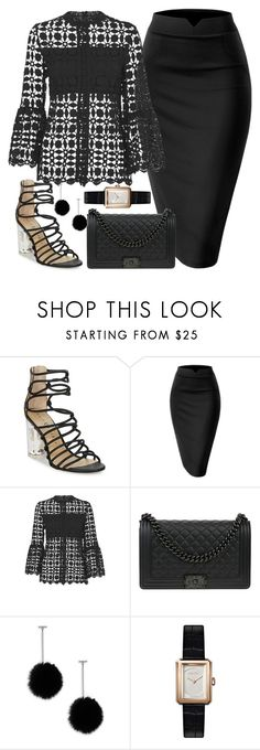 """Untitled #984"" by polyvorebyv ❤ liked on Polyvore featuring Chanel and Tuleste"