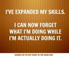 Expanded skill set due to TBI.
