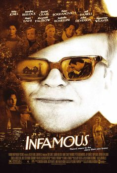 "MP936. ""Infamous"" Movie Poster by The Refinery (Douglas McGrath 2006) / #Movieposter"