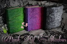 The Black Witch/The Green Witch/The Purple Witch  Book Of