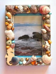 Super Seashells Picture Frame Craft