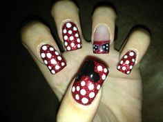 Disney nails via Blondies