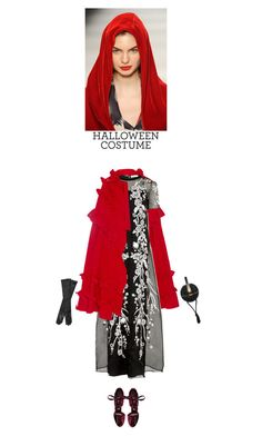 """DIY costume"" by helena99 ❤ liked on Polyvore featuring Gucci, Matthew Williamson, Jimmy Choo, Judith Leiber, Oscar de la Renta, halloweencostume and DIYHalloween"