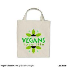 Vegan Grocery Tote