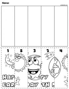 Teach counting skills with this Earth Day Cut & Order Worksheet! Great for teaching 1:1 counting skills and number recognition for numbers 1-5. No prep and great for math centers! #preschool #preschoolers #preschoolactivities #kindergarten #Homeschooling #mathcenters #earthday