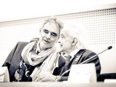 Andrea Bocelli & Antonino Zichichi | Challenges 2015 - ABFMIT