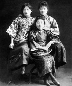 Soong Sisters, from BBC site - From Western ships came bicycles, engine parts and young Chinese with a vision of modernity - adventurers like Charlie Soong who had been out to see the world and had come back with ideas about revolution and the role of women.