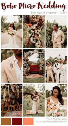 Coral Wedding Colors, Best Wedding Colors, Burgundy Wedding, Wedding Color Schemes, Wedding Advice, Wedding Vendors, Farm Wedding, Elopement Wedding, Rustic Bohemian Wedding