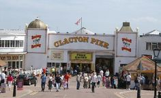 The pier, Clacton-on-Sea, Essex, England Butlins, North Sea, British Isles, Seaside, Past, Street View, Essex England, Pictures, Image Search