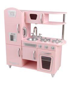 Another great find on #zulily! Pink Vintage Kitchen by KidKraft #zulilyfinds