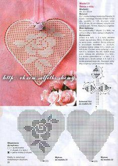 Home Decor Crochet Patterns Part 4 - Beautiful Crochet Patterns and Knitting Patterns Filet Crochet, Crochet Cross, Crochet Diagram, Crochet Motif, Crochet Doilies, Crochet Stitches, Crochet Flower Patterns, Crochet Flowers, Crochet Stars