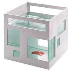 Apartment for my fish? How about apartment for me? THEN, I'll worry about my fish. ...it IS really cool, though.