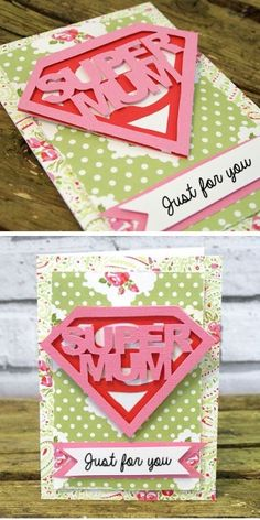 Super Mum Mothers Day Card