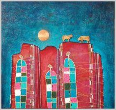 Marita Milkis, Shepherds on ArtStack #marita-milkis #art