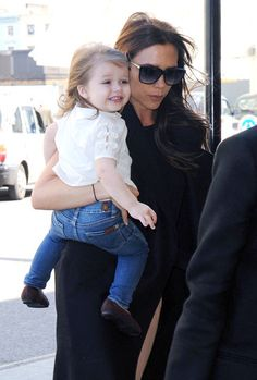 How adorable are Harper's Sevens jeans?! Suri Cruise...watch out.