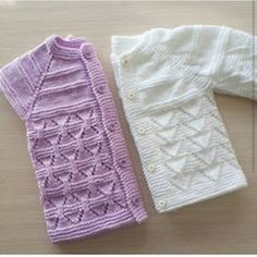 Rob Vest Models with Rob Baby Vest Video - Babykleidung Baby Cardigan Knitting Pattern Free, Baby Knitting Patterns, Knitting Stitches, Baby Patterns, Knitting Tutorials, Crochet Kids Hats, Knitting For Kids, Knit Crochet, Baby Sweaters