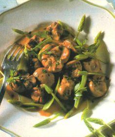 receta de rinones a la mostaza