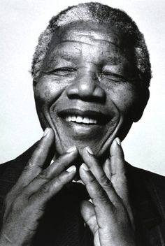 """""""Lead from the back and let others believe they are in front."""" - Nelson Mandela"""