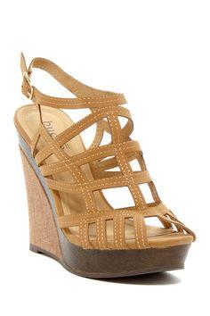 Mirin Wedge Sandal by Bucco on @HauteLook