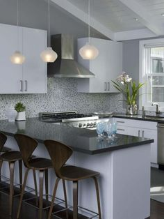Modern Kitchen Design Ideas for Weekend Retreat House Remodel