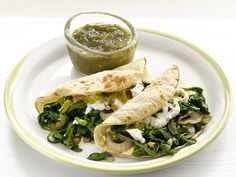 Ricotta-Spinach Tacos from #FNMag