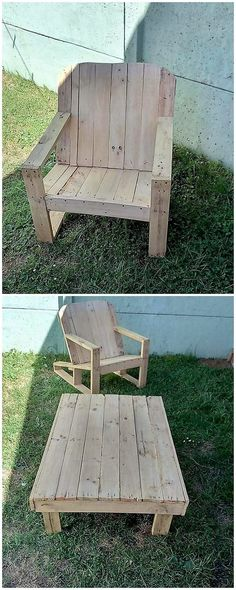 Bring attractive innovations in your house garden with the custom designing of the pallet table and best chair form of work. This project artwork is one of the brilliant and outstanding ideas which you can add upon in your house through the effect use of wood pallet all over it.