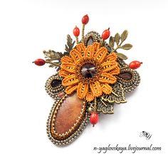 Осенний букет | biser.info - всё о бисере и бисерном творчестве
