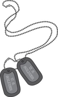 military dog tags clip art military dog tags image national rh pinterest com dog tag clip art military scooby doo dog tag clip art