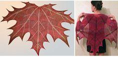 Make Maple Leaf Shawl