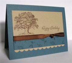 Tree for Dad by brierrose - Cards and Paper Crafts at Splitcoaststampers