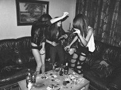 Get drunk with best friends