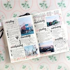 """872 Likes, 6 Comments - studygram/bujo inspiration.  (@bullet.journals) on Instagram: """"How pretty is this? By @kumamon.studies ✨ Also, thank you all for following me - 6k!  Use the tag…"""""""