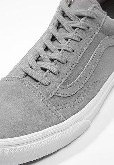 Chaussures Vans OLD SKOOL - Baskets basses - gray/true white gris: 63,00 € chez Zalando (au 16/02/17). Livraison et retours gratuits et service client gratuit au 0800 915 207.