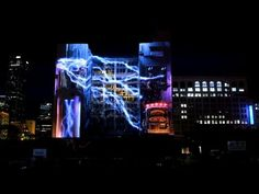 """For LoopNet, the largest online commercial real estate listing service, wanted to demonstrate how if your building was not listed on their network, then """"it may as well be invisible.""""  This projection mapping made the a building appear disappear using 3D technology and an array of more than 20 high powered 24k and 28k projectors."""