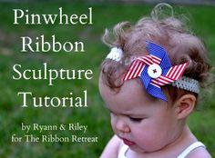 pinwheel bow tutorial