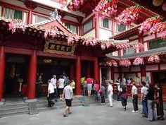 Singapore / Buddha Tooth Relic Temple / Joanna Łukasiewicz