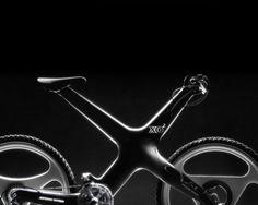 Projet de recherche sur un mountain bike haut de gamme en composites. Sa particularité consiste en un cadre 100% rigide où l'axe du guidon est réglable angulairement