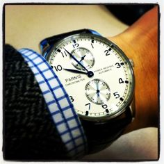 Parnis Power Reserve Automatic
