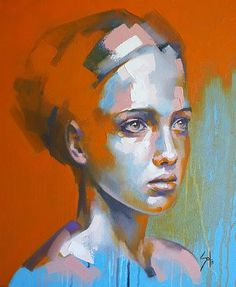 Above art solly smook - salvabrani Art Inspo, Kunst Inspo, Painting Inspiration, Abstract Portrait, Portrait Art, Art And Illustration, Hippie Painting, Figurative Kunst, Pretty Art