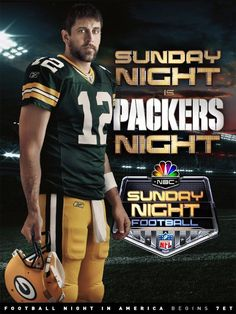 aaron. rodgers. I think he is heading to the Super Bowl.