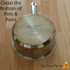 Clean the Bottom of Pots & Pans